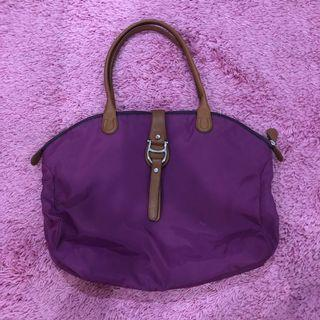 AIGNER purple totebag