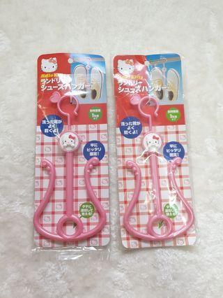 Hello Kitty shoes hanger set( sanrio)