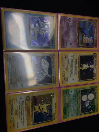 🚚 Neo genesis card lot