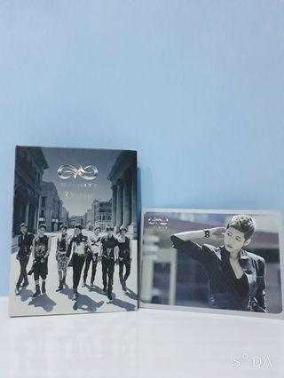 Infinite Destiny album with Sungyeol PC