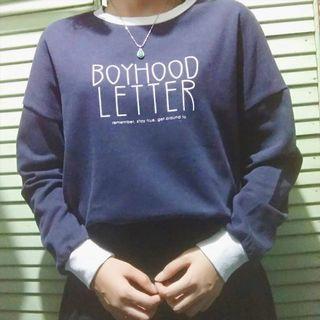 Sweater boyhood