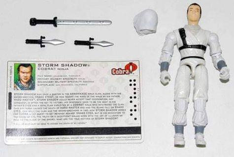 GI Joe Club Exclusive 2005 Storm Shadow Unmasked