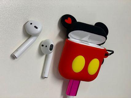 Airpods iPhone 蘋果 耳機套 保護套 米奇 mickey #mtrcentral #mtrtw