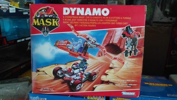 Kenner M.A.S.K. Dynamo new in box with figure Mask