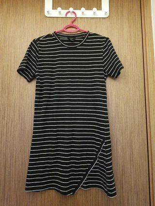 Black Stripe Dress