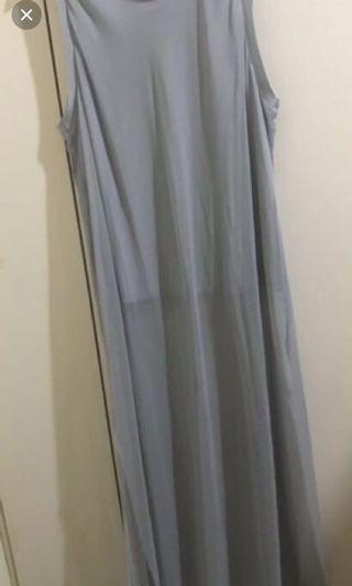 🚚 ZARA. 雪紡長洋造型紗裙