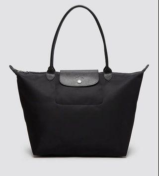 Authentic Longchamp Planetes in Black