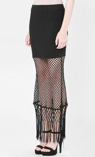 Thavia Kym Net skirt