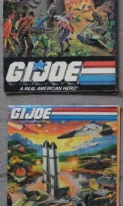 GI Joe Vintage Catalogues Set of 2