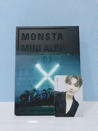 Monsta X The Clan Part.1 album FOUND Ver Kihyun PC
