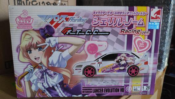 Mitubishi Lancer Evolution VII Evo 7 Anime Frontier Touring Car Championship 8 X radio control RC 1/28 not mini-Z Kyosho