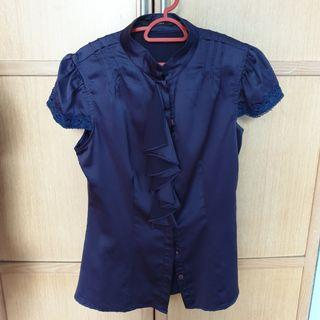 Violet Corporate Blouse