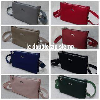 Longchamp Double Zip Slemp