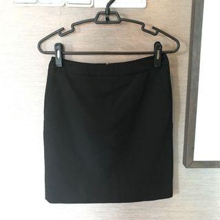 G2000 Black Office Skirt
