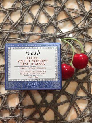 Fresh Lotus Youth Preserve Rescue Mask 30ml