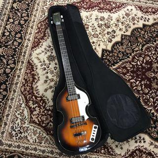 Hofner Ignition Violin Bass Sunburst