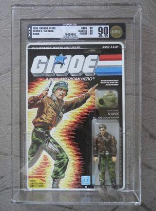 GI Joe 1986 Hawk AFA 90 C90 B90 F90