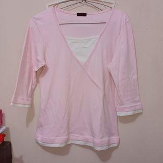 #BAPAU blouse wanita pink