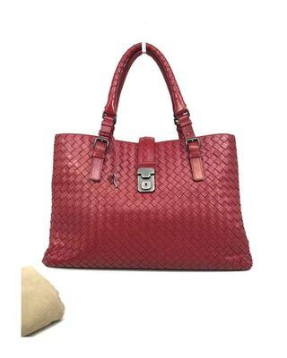 BOTTEGA VENETA Medium Roma Bag • 38 x 22 x 18 CM • Comes with key & dust bag • Very good condition