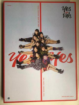 🚚 twice yes or yes album