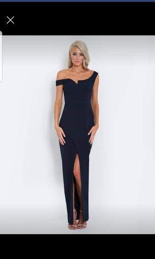 Evening gown and cocktail dress