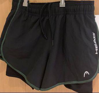 Woman Head Sport Shorts