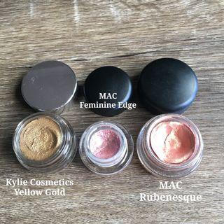 Cream Eyeshadows & Eyeliners