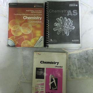 Cambridge A-Levels Chemistry Textbook, Study Guide, & Past Year Papers