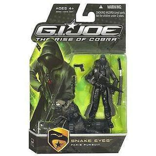 GI Joe Rise of Cobra ROC Snake Eyes Paris Pursuit