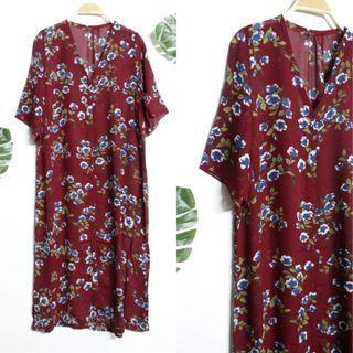 #BAPAU Outer Flower Dress
