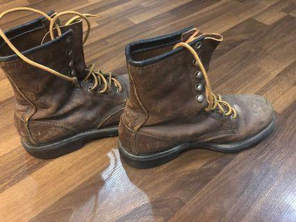 Red Wing Season Steel Toe Boots
