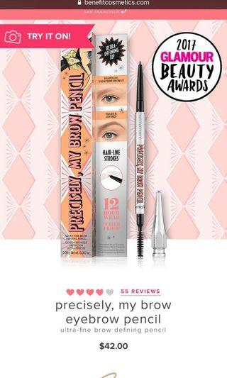 BN Benefit precisely my brow eye brow shade 4