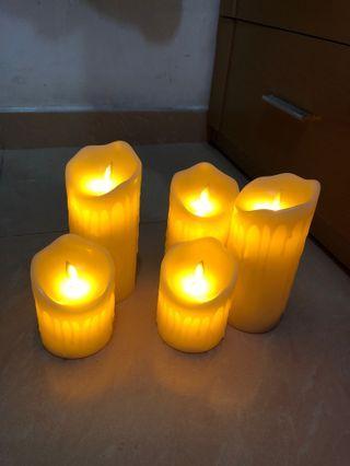 高仿真石蠟流淚電子蠟燭 搖擺蠟燭 晃動蠟燭