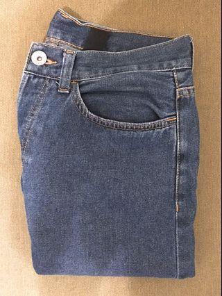 🚚 H&M 丹寧直筒牛仔褲