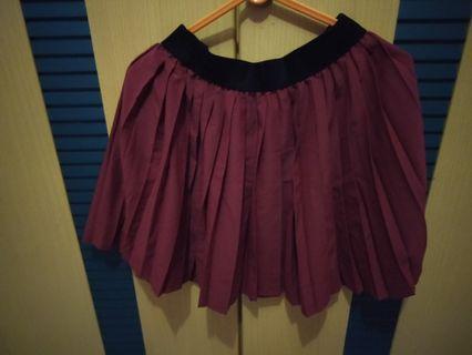 #BAPAU Red Skirt H&M
