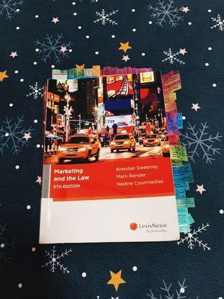 Marketing law textbook (Murdoch Textbook)