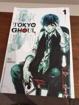🚚 Manga - Tokyo Ghoul (English)