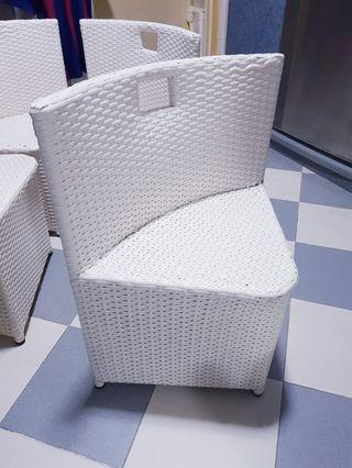 🚚 Outdoor Rattan Chairs