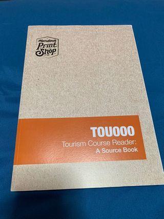 Tourism course reader Tou000