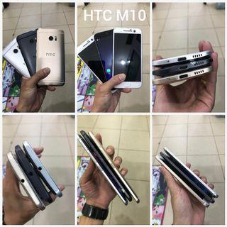 Hape HTC M10 singel Ram 4/32GB , Batangan Mulus pakai 95%
