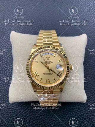 Rolex Day-Date 40mm 18K Yellow Gold