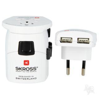 Skross Travel Adaptor Pro+