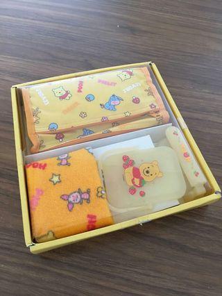 Winnie The Pooh Stationary Set 小熊維尼文具4件套裝