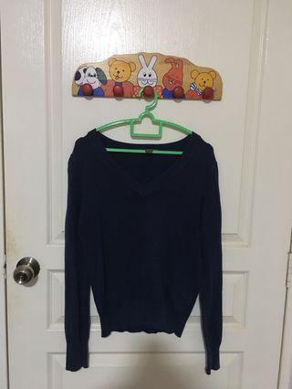 🚚 Forever 21 Navy Blue Pullover Sweater