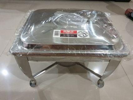 Stainless steel Chafing Dish-Oufold stand NEW & BOXED