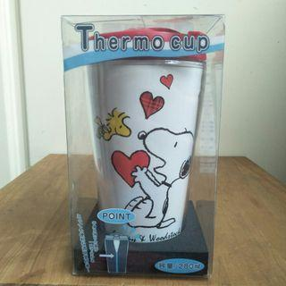 【LoveloVe】全新Snoopy Thermo Cup史努比保溫杯.手拿杯
