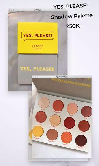 Colourpop Yes, Please! Shadow Palette.