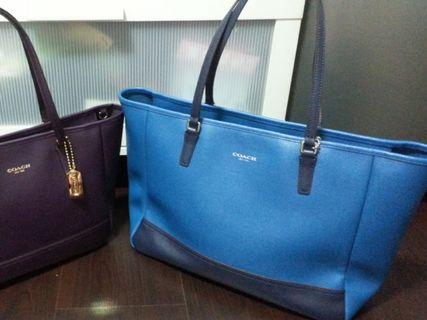 🚚 Coach Saffiano Leather Handbag Tote
