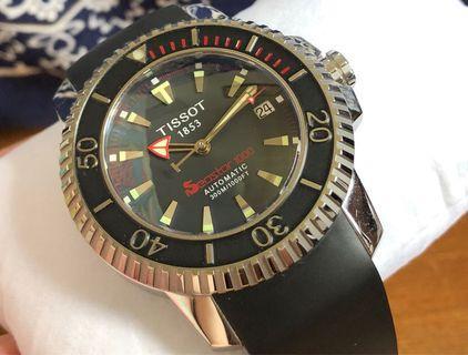 Tissot Seastar 1000 diver系列2003 version