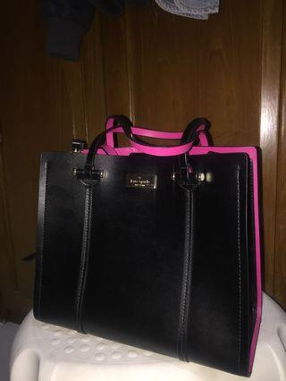 Authentic Kate Spade Black & Pink